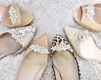 279b6401f96 Wedding Shoe Clips - Bridal Shoe Clips Bridesmaid Gift Style  C0117