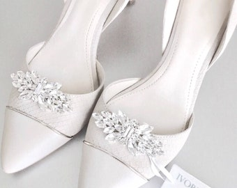 Wedding Shoe Clips - Bridal Shoe Clips Bridesmaid Gift - Style  C0217 e614da276e5a
