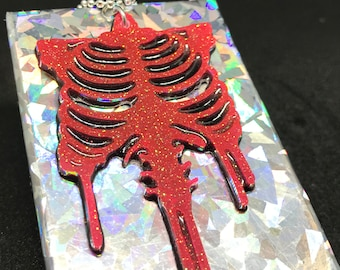 Glow in the dark Rib-cage with Sternum
