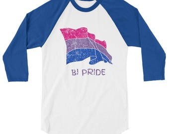 Bi Pride 3/4 sleeve