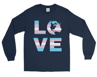 Transgender Love Long Sleeve Tshirt