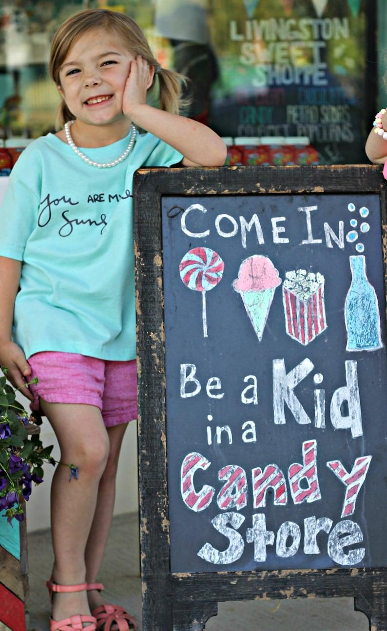 8359edd1a Little miss sunshine kids clothes girls shirt turquoise | Etsy