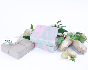 Ginger and Flowers soap