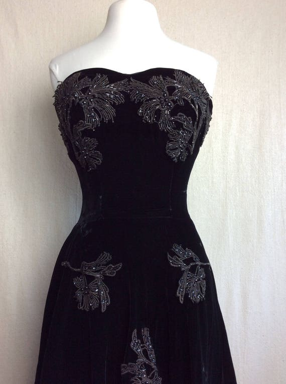 Vintage Dress Applique