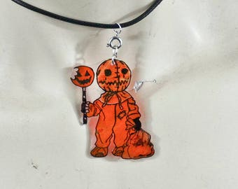 Sam trick r treat charm necklace