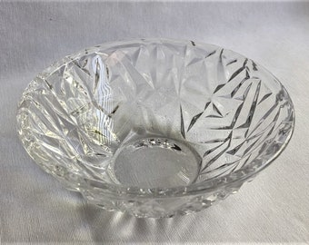 848bf47b721e Tiffany   Co. Rock Cut Crystal Bowl