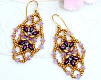 Lady Butterfly - Handmade Earrings