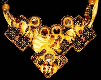 "Necklace ""Cleopatra"" - INBW"