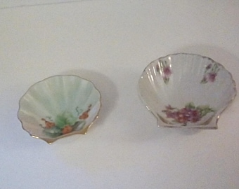 Lovely Porcelain Trinket Dishes (2)