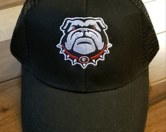 Custom embroidered Georgia Bulldogs Cap 9ec8fc8ad97