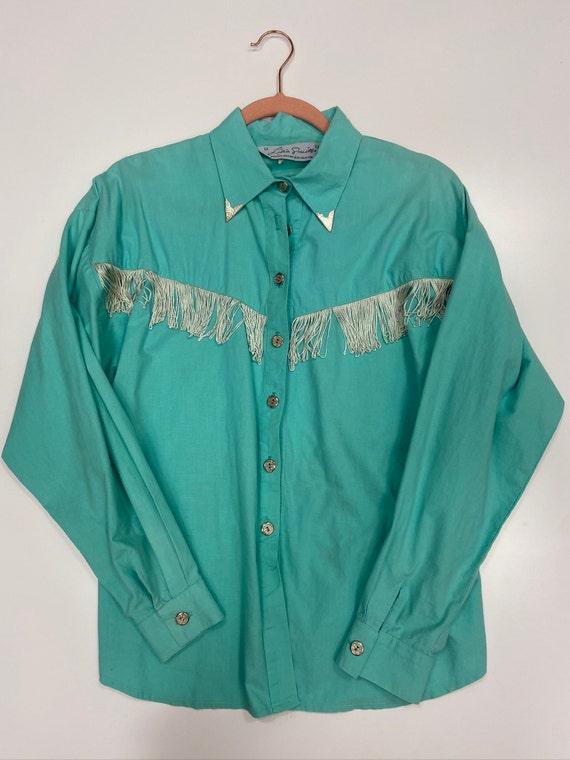 Teal Rodeo Shirt