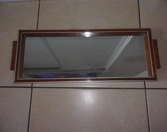 antique art deco mirror tray