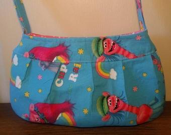 Small Purse, Small Buttercup bag, Small Handbag, Girls Purse, Shoulder Bag, Little Girl Tote, Trolls Purse, Trolls, Trolls Girls Purse