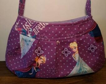 Small Purse, Small Buttercup Bag, Small Handbag, Girls Purse, Shoulder Bag, Little Girls Tote, Date Night Purse, Frozen Purse, Anna Elsa
