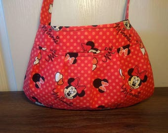 Small Purse, Small Buttercup bag, Small Handbag, Girls Purse, Shoulder Bag, Little Girl Tote, Minnie Mouse Purse, Minnie Mouse