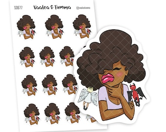 Which one will guide me today? Planner Stickers, Nia - S0677/S0695