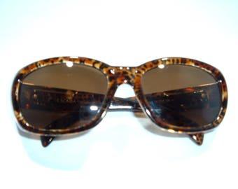Vintage Escada Tortoise Sunglasses France E 1004