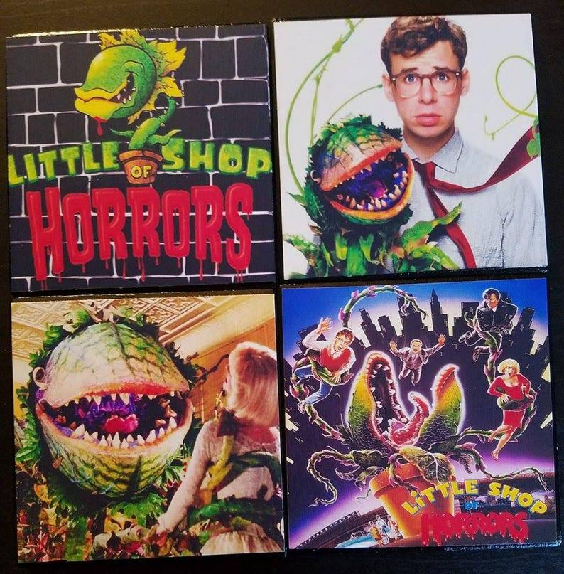 Little Shop of Horrors coaster set