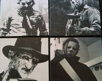 Slasher Coasters (set of 4)