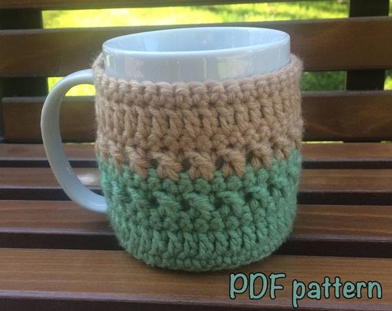 Coffee Cozy Pattern Tea Cozy Pattern Mug Cozy Pattern Easy Etsy