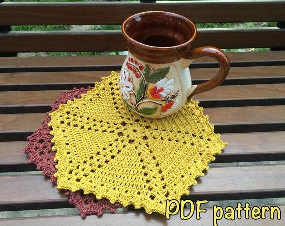 Pdf Washcloth Pattern Diy Pot Holder Pattern Pdf Baby Etsy