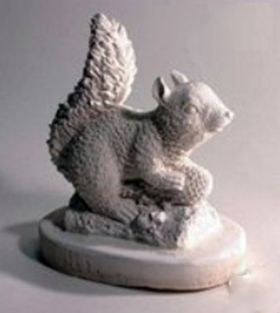 Squirrel Latex Mould//Mold for Plaster//candle//Soap//Concrete LM 1063