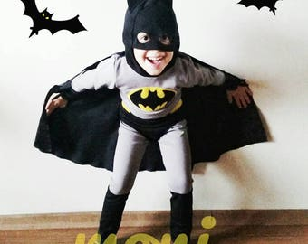Batman Costume & Batman costume   Etsy