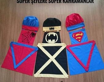 Superhero Kitchen Apron Set