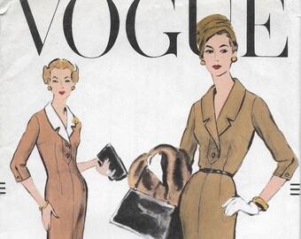 Vintage Ladies' Dress Pattern Vogue 9289--1957