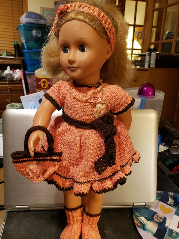 "Fits Our Generation American Girl Doll 18/"" Doll Socks Dolls Clothes Pony socks"
