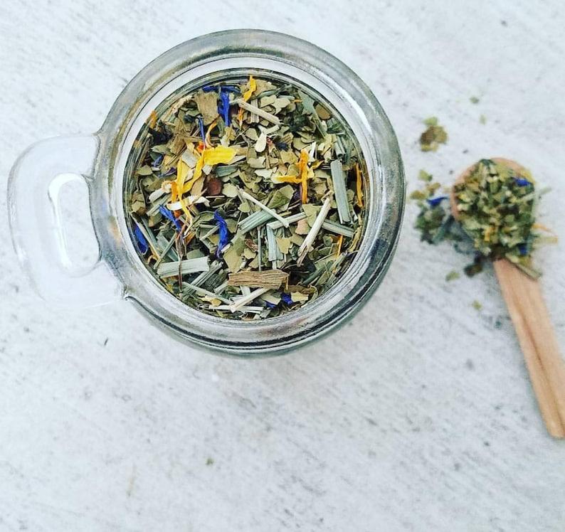 Organic Herbal Energizing Tea Blend 1.75 oz. image 0