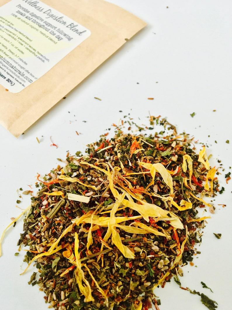 Organic Wellness Digestion Herbal Tea Blend 1.75 oz. image 0