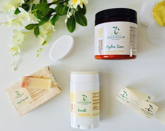 Moisturizing Gift Set//Intense Hydration Skin Essentials//Body Butters//Natural Soap