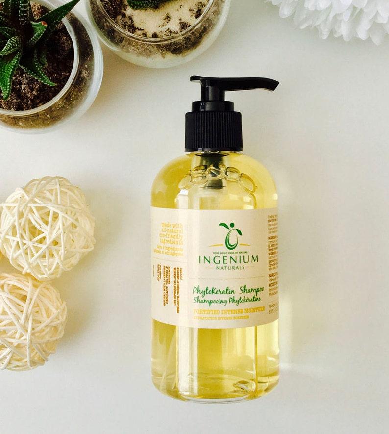 Fortifying Natural Phytokeratin Shampoo//Dry Hair//Damaged image 0