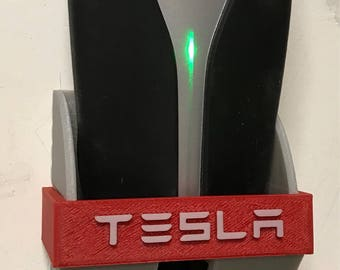 Tesla Mobile Charger Wall Mount, 3D Printed
