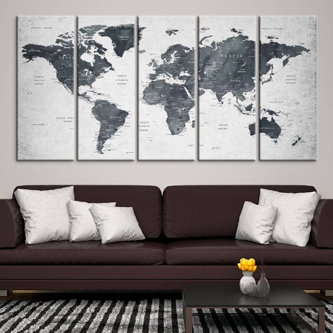 World map wall art world map push pin travel push pin world map travel map art gallery photo gallery photo gallery photo gallery photo gallery photo gumiabroncs Image collections