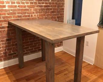 Dining Room Table // Kitchen // Rustic // Farmhouse // Custom