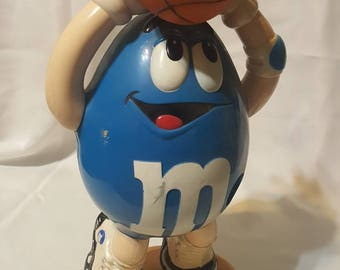 M&m's Basketball Sport Candy Dispenser Limited Ed 3rd Collectible