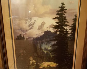 "Quiet Grandeur"" by Dalhart Windberg, Framed, Signed,  Certificate Authenticity"