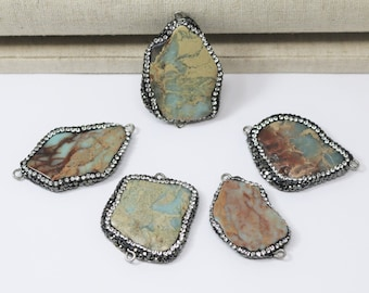 Medium African Opal Connector