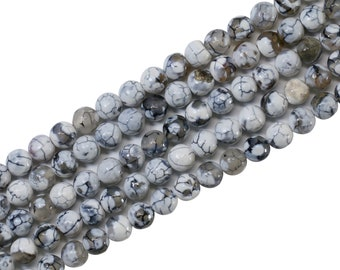 Tube Shape Beads 25 Piece One Strand DIY Beads Strand 8X15mm Lite Green Agate Beads Strand Central Drill Stones Lite Green Agate Strand