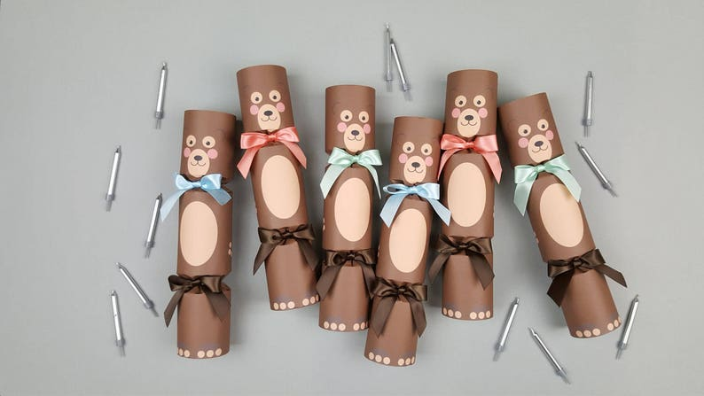 Birthday Crackers Easter Crackers Party Crackers Baby Shower Crackers. Christening Crackers Bear Crackers Animal Crackers