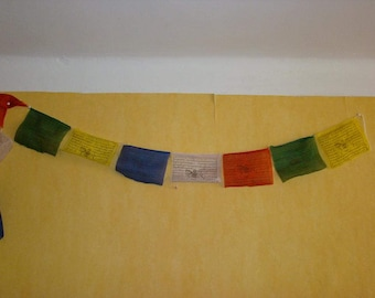 25 Tibetan Buddhist prayer flags