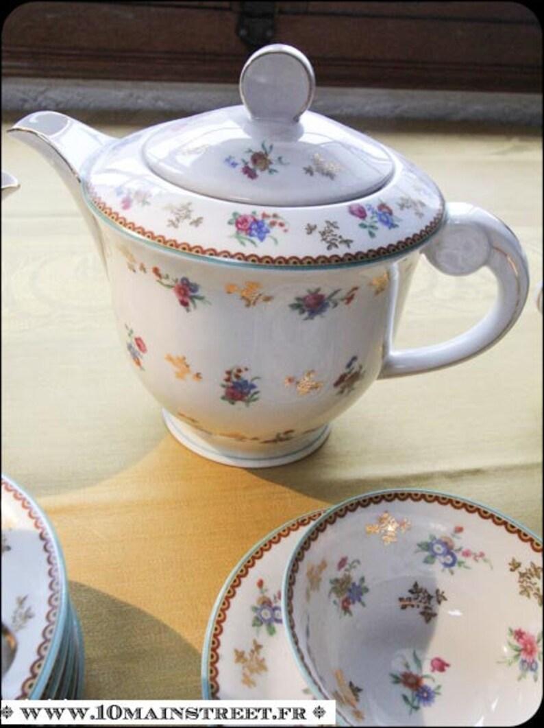 Beautiful Raynaud Limoges 1950/'s teacoffee service