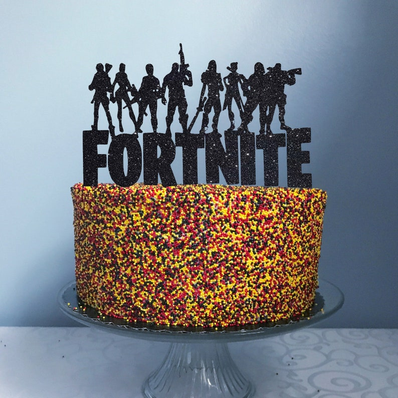 Admirable Gamer Birthday Cake Topper Personalized Team Birthday Topper Etsy Funny Birthday Cards Online Alyptdamsfinfo