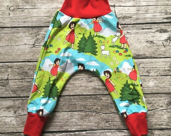 """Pump pants """"Heidi with kids"""" size 62-116 from summer sweat"""