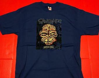 382036708 Santana Supernatural Concert T-Shirt