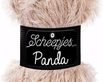 Scheepjes Panda Yellow Furry Amigurumi Yarn 50g 586