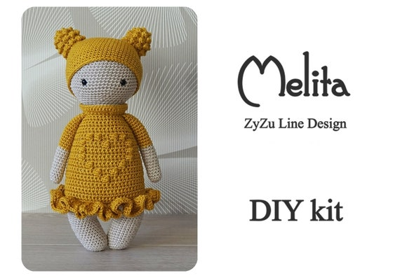 Chat au crochet Kit-Amigurumi chat pattern-crochet chats | Etsy | 397x570