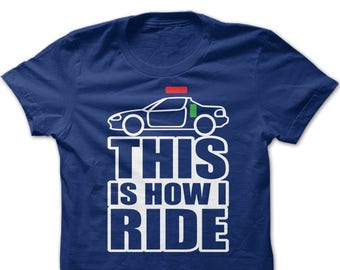 Honda del Sol This is How I Ride T-Shirt